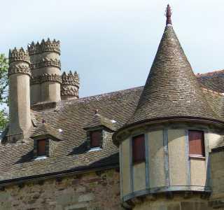 château de La Roche-Jagu en Ploëzal