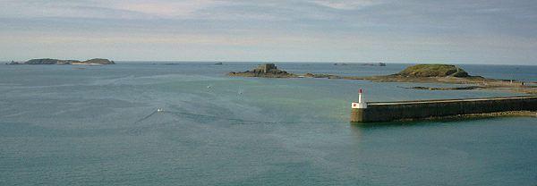 la rade de Saint-Malo