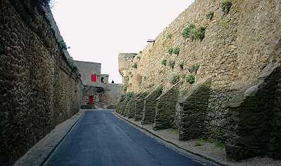 entre les remparts de Saint-Malo