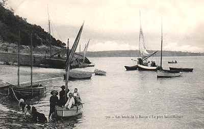 cale de Port Saint-Hubert vers 1900