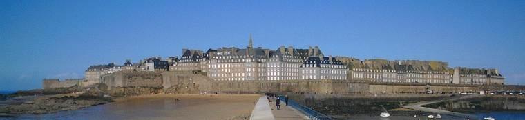 Saint-Malo de la jetée