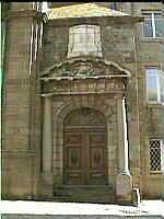 porche d'église, Saint-Malo
