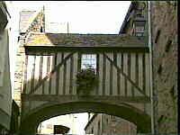 galerie à pans de bois, Saint-Malo