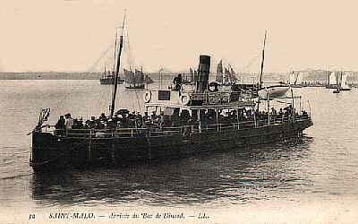 la vedette de Saint-Malo vers 1900